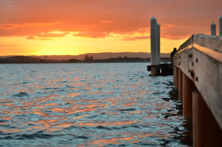 Sunset in Swansea, Lake Macquarie NSW